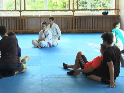Франківські ветерани АТО організували для дітей тренування з джиу-джитсу