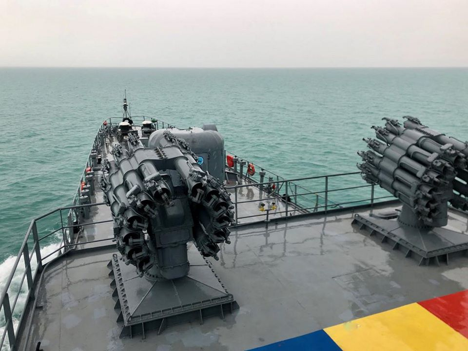Українські та румунські ВМС відпрацювали спільні тренування у морі