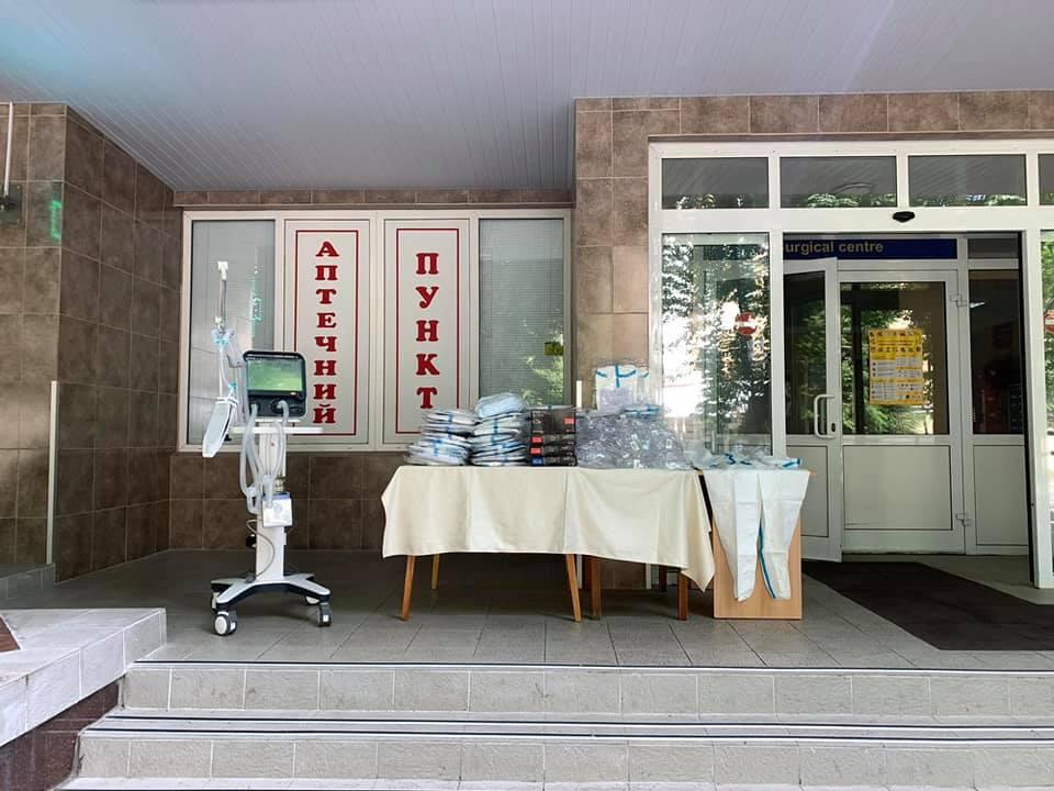 Гуманітарну допомогу вартістю понад 600 тисяч гривень отримав Національний військово-медичний клінічний центр