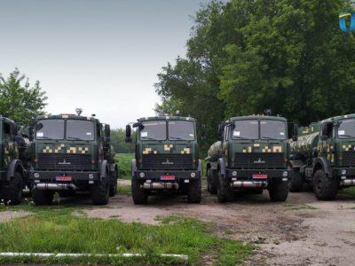 Міністерство оборони України отримало п'ять автоцистерн АЦ-12