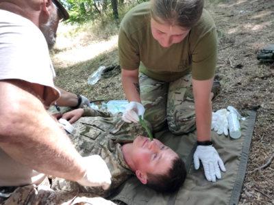 Артилеристи ВМС пройшли курс із тактичної медицини високої складності