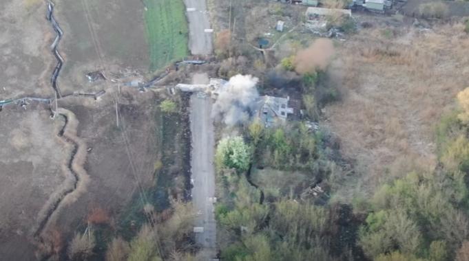 ЗСУ на Донбасі влучним ударом знищили ворожу мінометну позицію