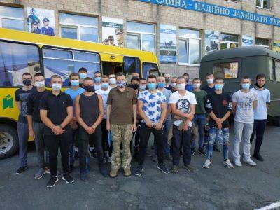 На Вінниччині більше двохсот призовників відправили у війська