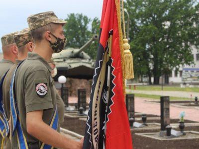 Чернігівщина урочисто зустріла військовослужбовців окремої танкової Сіверської бригади, які повернулися з ООС