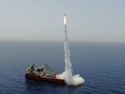 Ізраїль випробував надточну балістичну ракету
