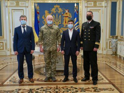 Президент призначив Олексія Неїжпапу командувачем ВМС України