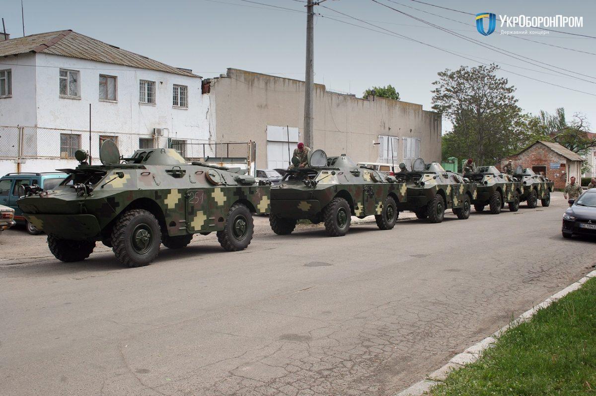 Миколаївський бронетанковий завод передав військовим чергову партію бронетехніки в рамках ДОЗ – 2020