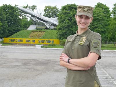 Президентський стипендіат Дар'я Каліберда: «У нашій родині — жодного військового, а мені до вподоби армійське життя»