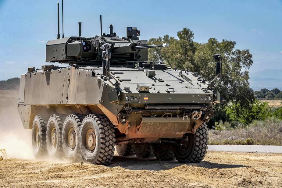 Іспанія схвалила закупівлю перших 348 бронемашин VCR з колісною базою 8×8