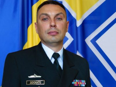 Міністр оборони України призначив заступником командувача ВМС ЗС України капітана 1 рангу Олексія Доскато