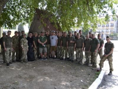 На Одещині урочисто зустріли військовослужбовців бригади іменіЛицарів Зимового Походу