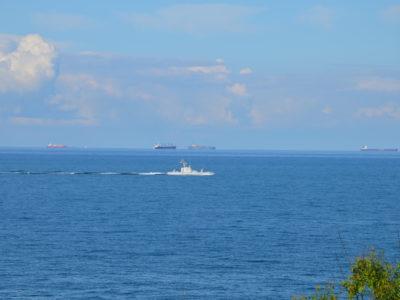 У Чорному морі випробовували бойові можливості нового артилерійського катера