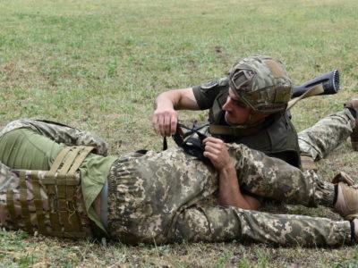 Відбувся фронтовий конкурс на кращого сержанта ОТУ «Північ»