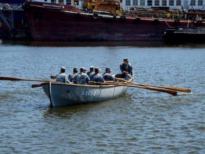У Чорному морі розпочався 20-денний похід на шлюпках майбутніх офіцерів і старшин ВМС України