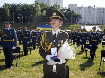 У Харкові відбувся «європейський» випуск офіцерів-авіаторів і вартових неба