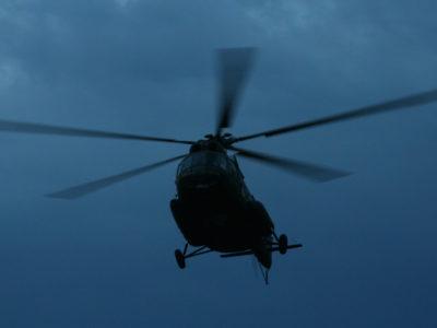Як курсанти-вертолітники вчилися літати вночі