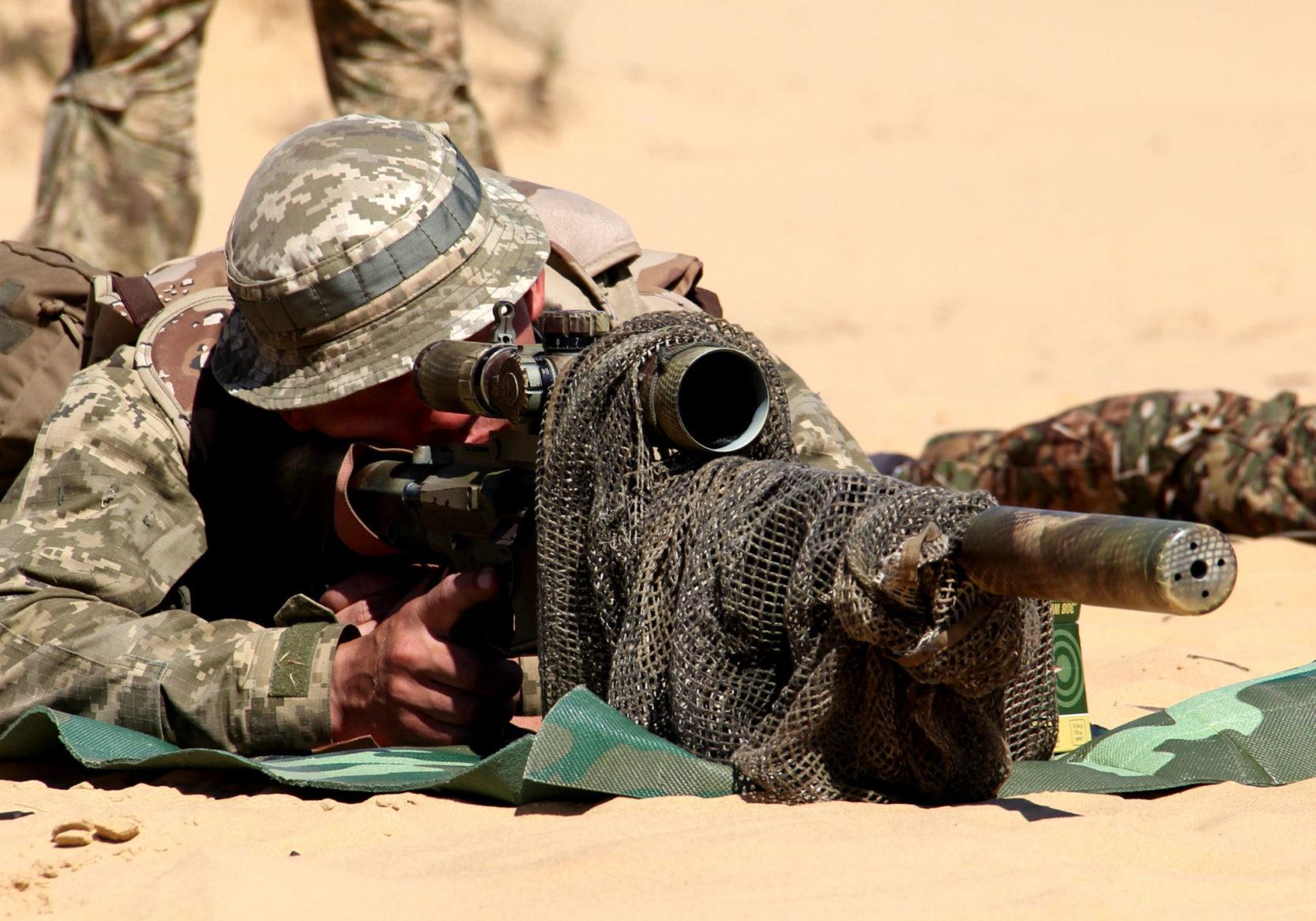 Морпіхи змагалися за звання найкращого снайпера