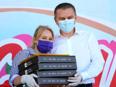 До Дня молоді у Вінниці нагородили найактивніших студентів, волонтерів, молодих науковців
