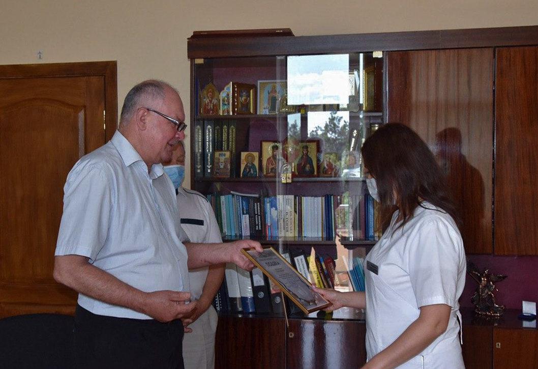 Ветерани громадських організацій відзначили медиків Ірпінського військового госпіталю
