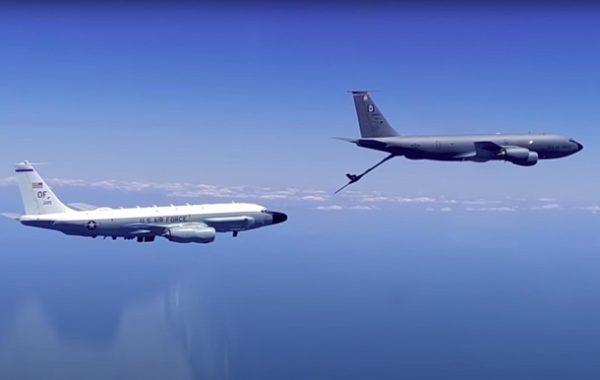 РФ підняла по тривозі авіацію через тріаду літаків США над Чорним морем