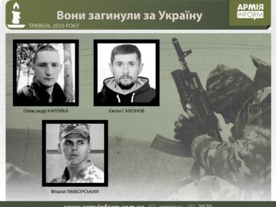 Вони загинули за Україну: імена та історії полеглих захисників у травні