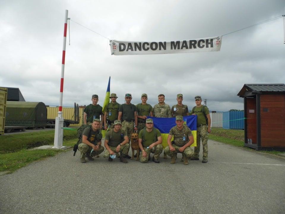 Українські миротворці на Балканах взяли участь у благодійному марафоні Danсon March
