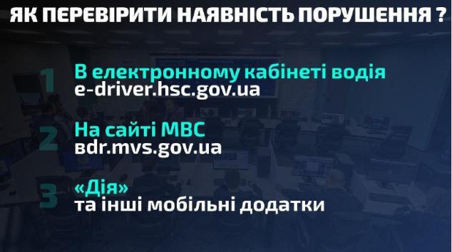 Як водіям перевірити, чи є в них штрафи: сервіси та онлайн-системи