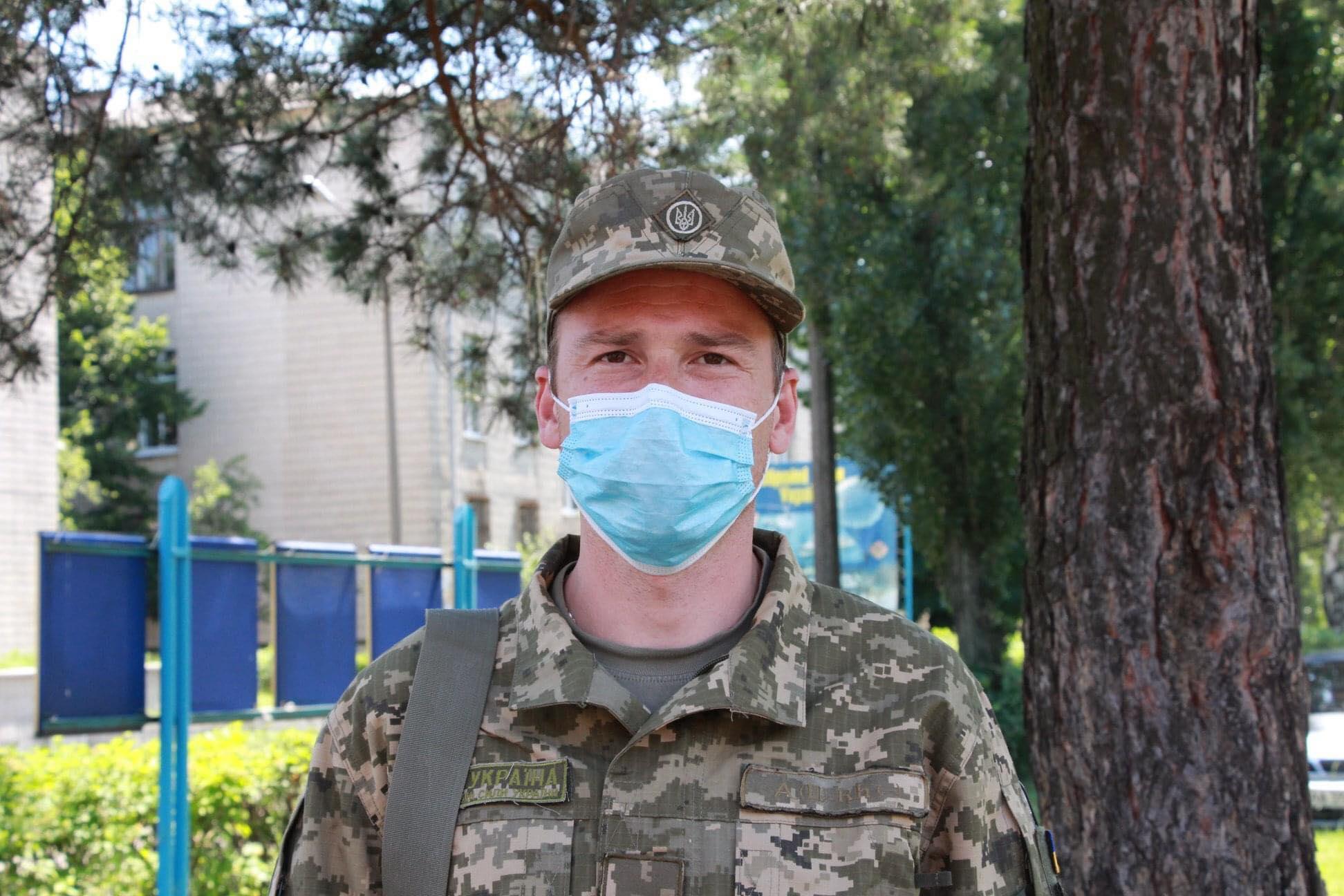 Після строкової служби на контрактну: історія лейтенанта Бихова