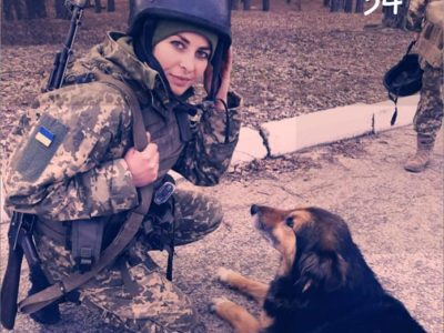 Сержант Наталя Білокаменська