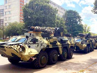 Чергова партія БТР-4Е надійшла до української армії
