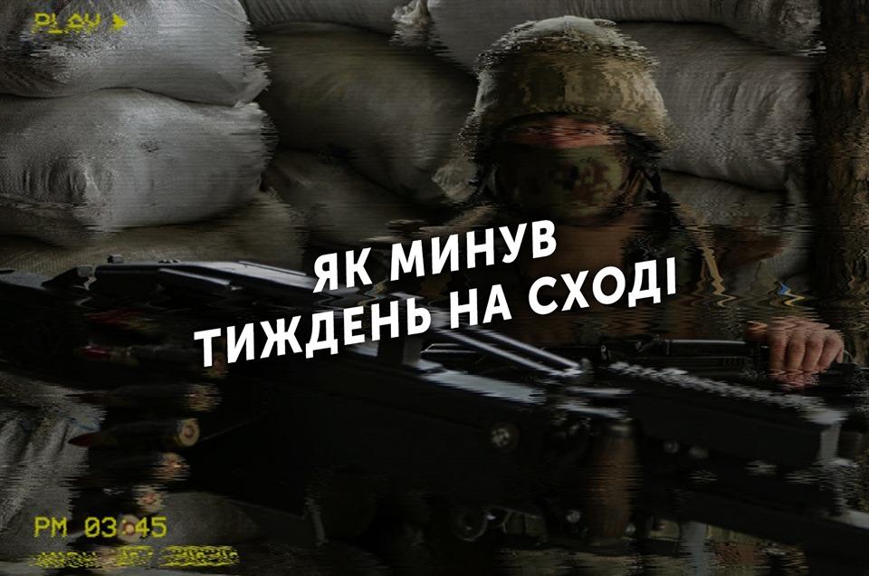 Тиждень на передовій: 86 ворожих обстрілів, двоє захисників України загинули, 7 — поранено