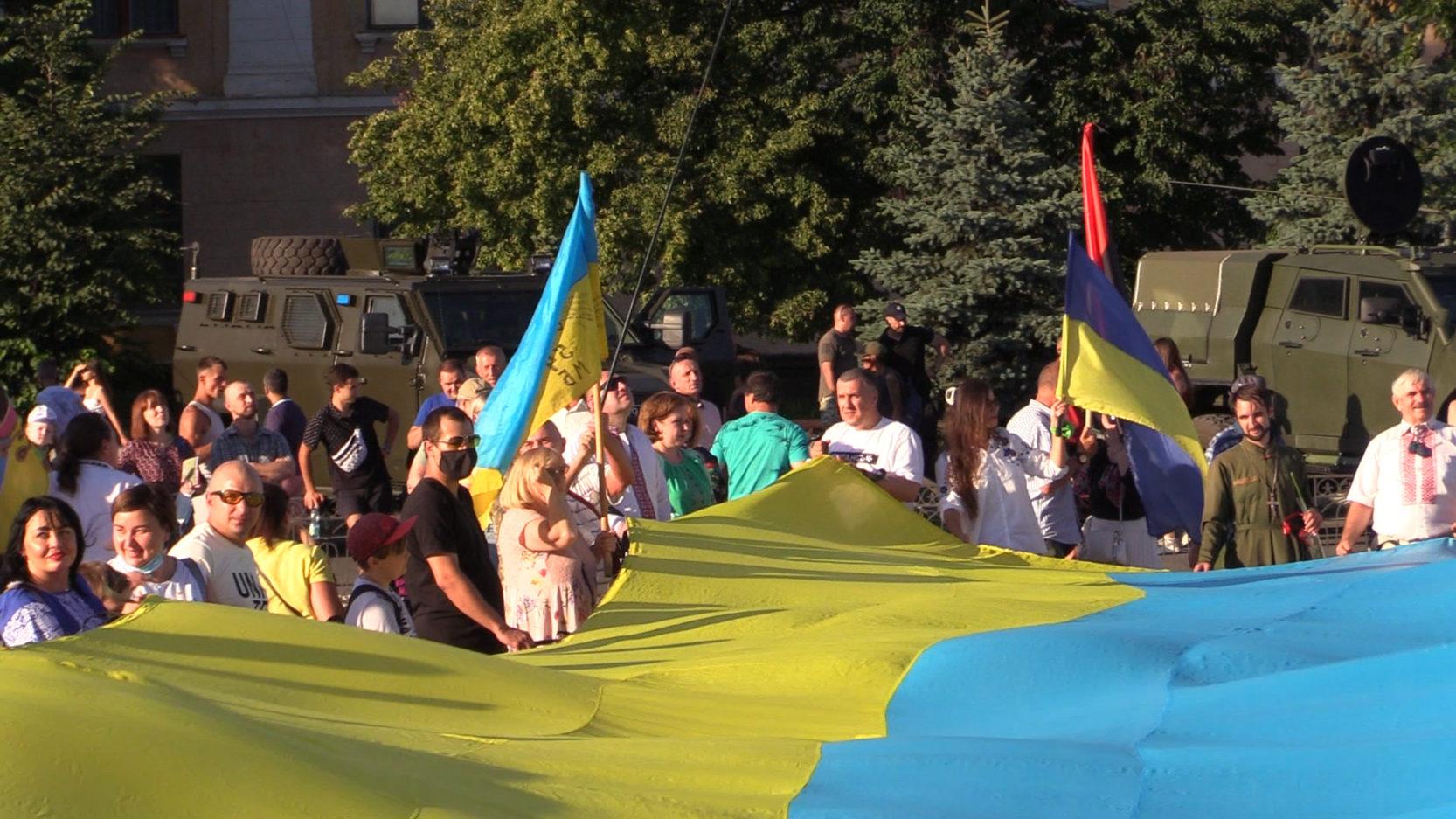 У Лисичанську відзначили 6-ту річницю звільнення міста від російсько-терористичних бандформувань