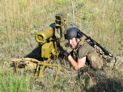Як в районі операції Об'єднаних сил змагалися обслуги ПТРК