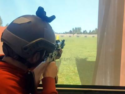 Тир із доповненою реальністю дозволяє тренувати водночас усе піхотне відділення