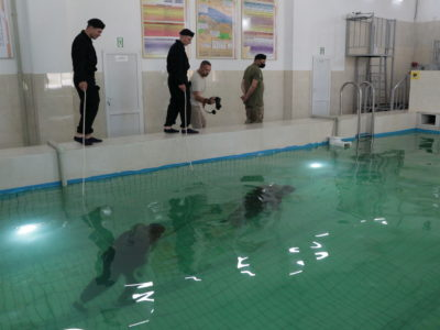 Курсанти-танкісти пройшли перший етап водолазної підготовки (ВІДЕО)