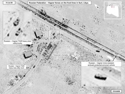 Пентагон звинуватив РФ у підготовці до наступальних бойових дій в Лівії через озброєння ПВК Вагнера