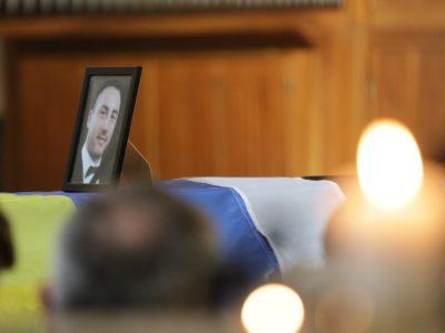 У Києві попрощалися з білорусом Миколою Іліним, який загинув за Україну