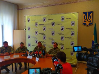 Генерал-лейтенант Володимир Кравченко: «Крім захисту держави від зовнішнього ворога, Об'єднані сили долучаються і до відновлення та розбудови Донбасу»