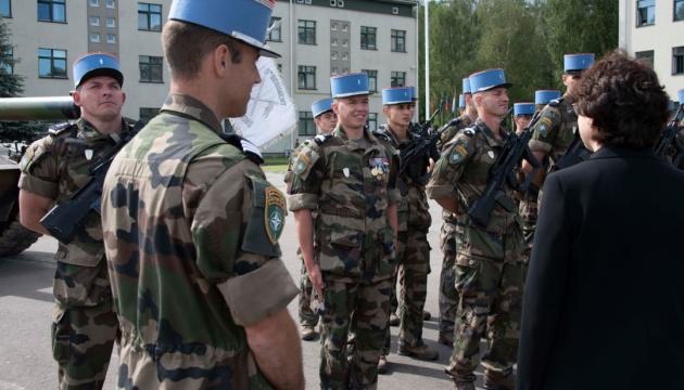 У Литві завершили комплектацію французької роти сил НАТО