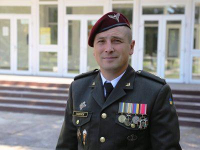 Десанту і бригаді – вірний: випускник Національної академії сухопутних військ втретє йде служити до десантної бригади у Львові