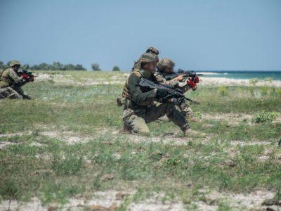«Морські котики» виводили групи в умовний тил противника