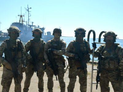 Морські спецпризначенці День ССО відзначили бойовою роботою у морі