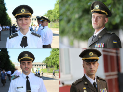 Чотири нові обличчя української армії