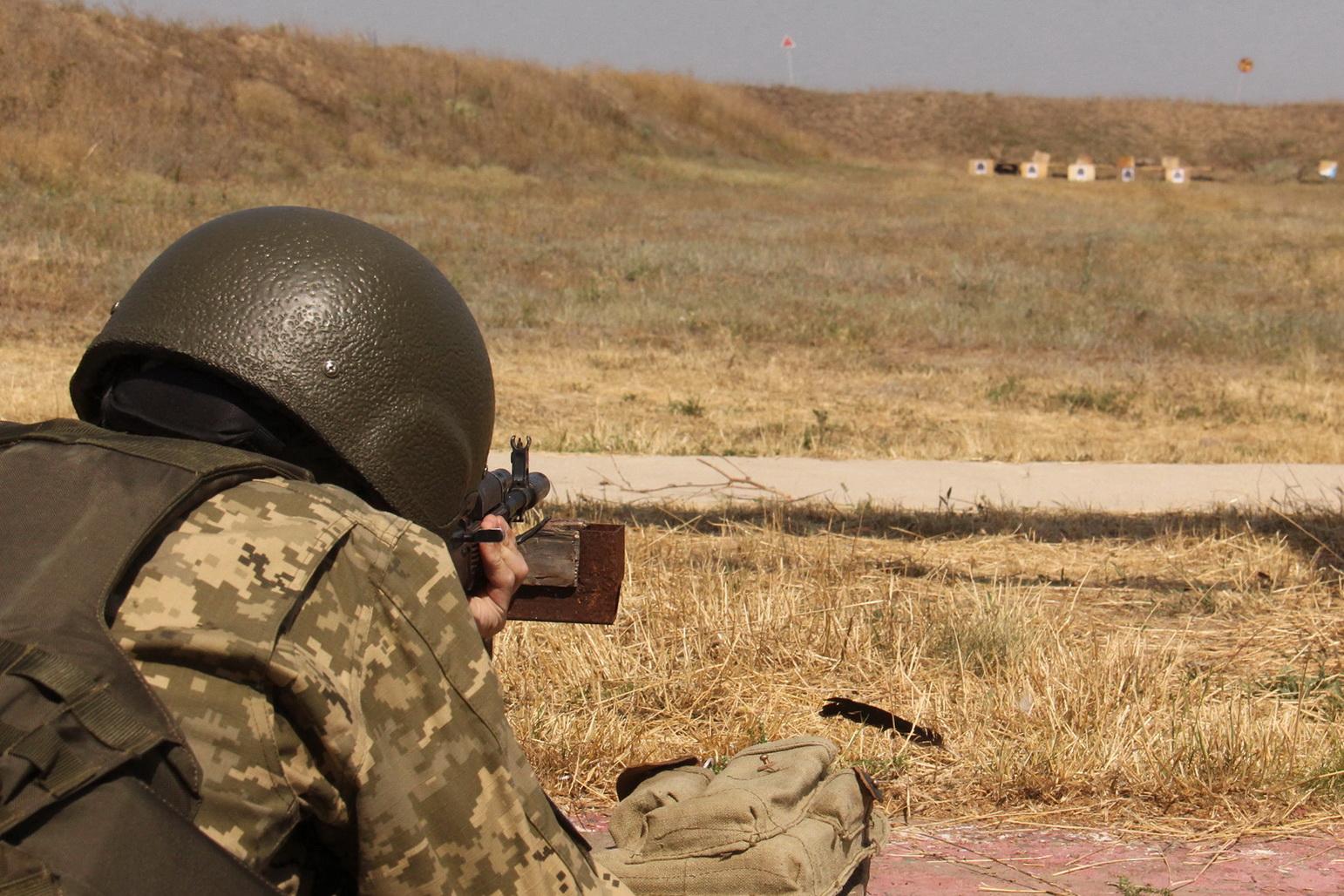 Офіцери, призвані з запасу, опановують поблизу Одеси нові військово-облікові спеціальності