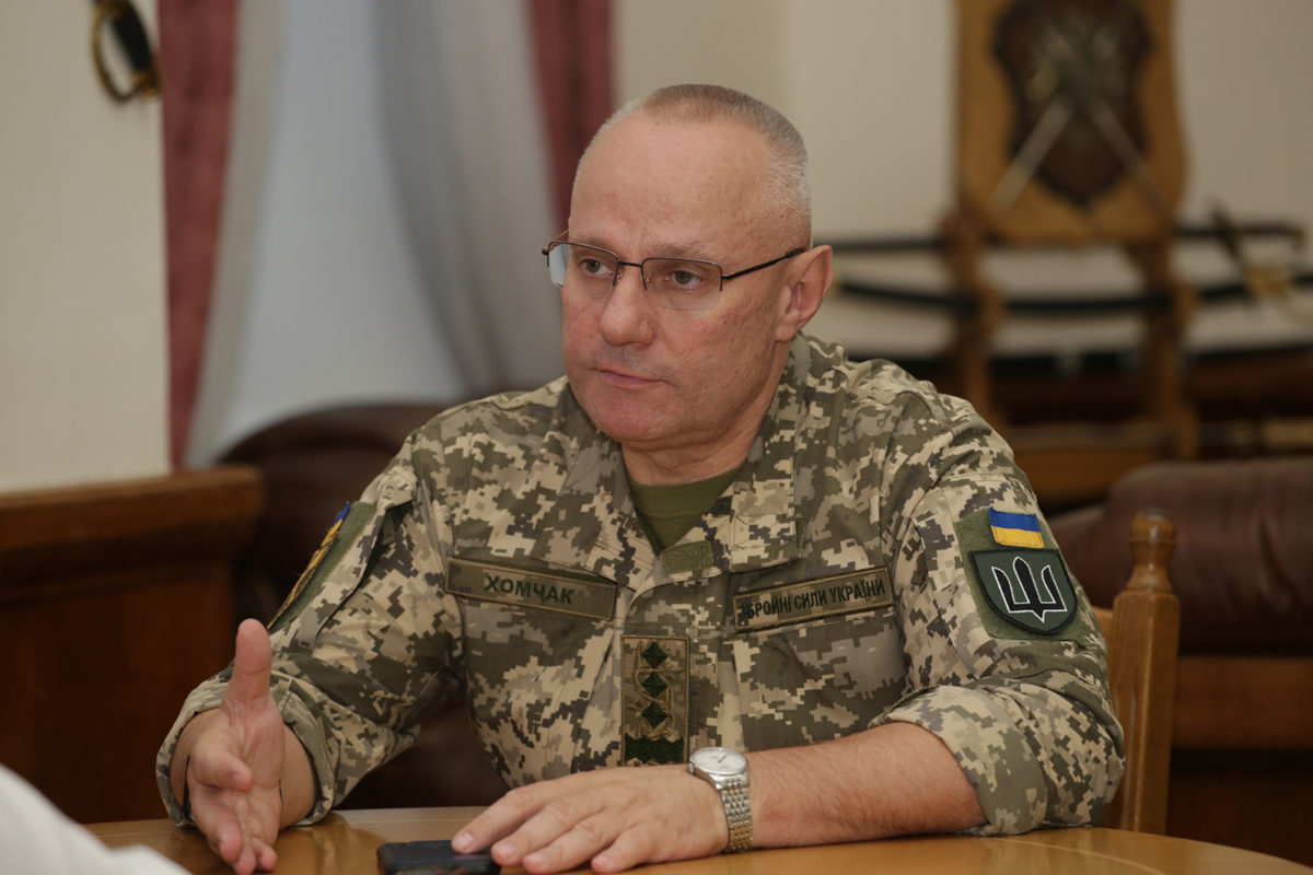 Commander-in-Chief of the Armed Forces of Ukraine Ruslan Khomchak: About the NATO partners advices, troop strength, use of Javelins and Bayraktars
