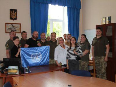 Стало відомо, який подарунок українським миротворцям зробили вітчизняні кіномитці