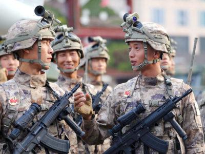 Китайська армія оновила камуфляж