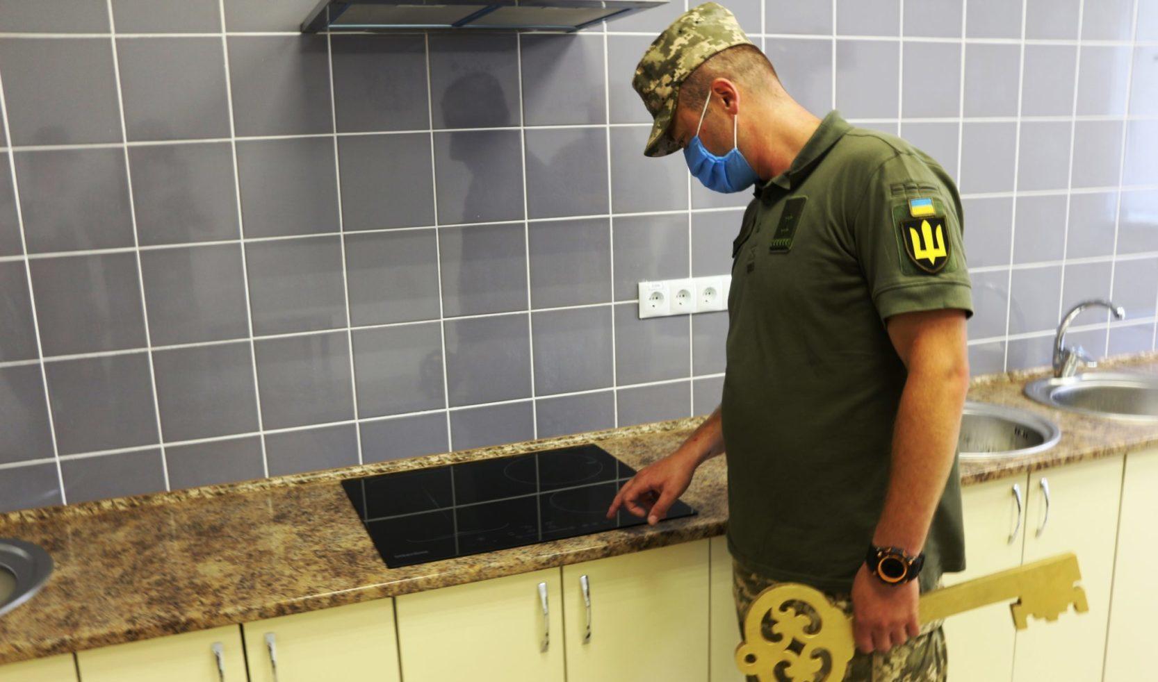На Чернігівщині здали в експлуатацію нові гуртожитки для контрактників