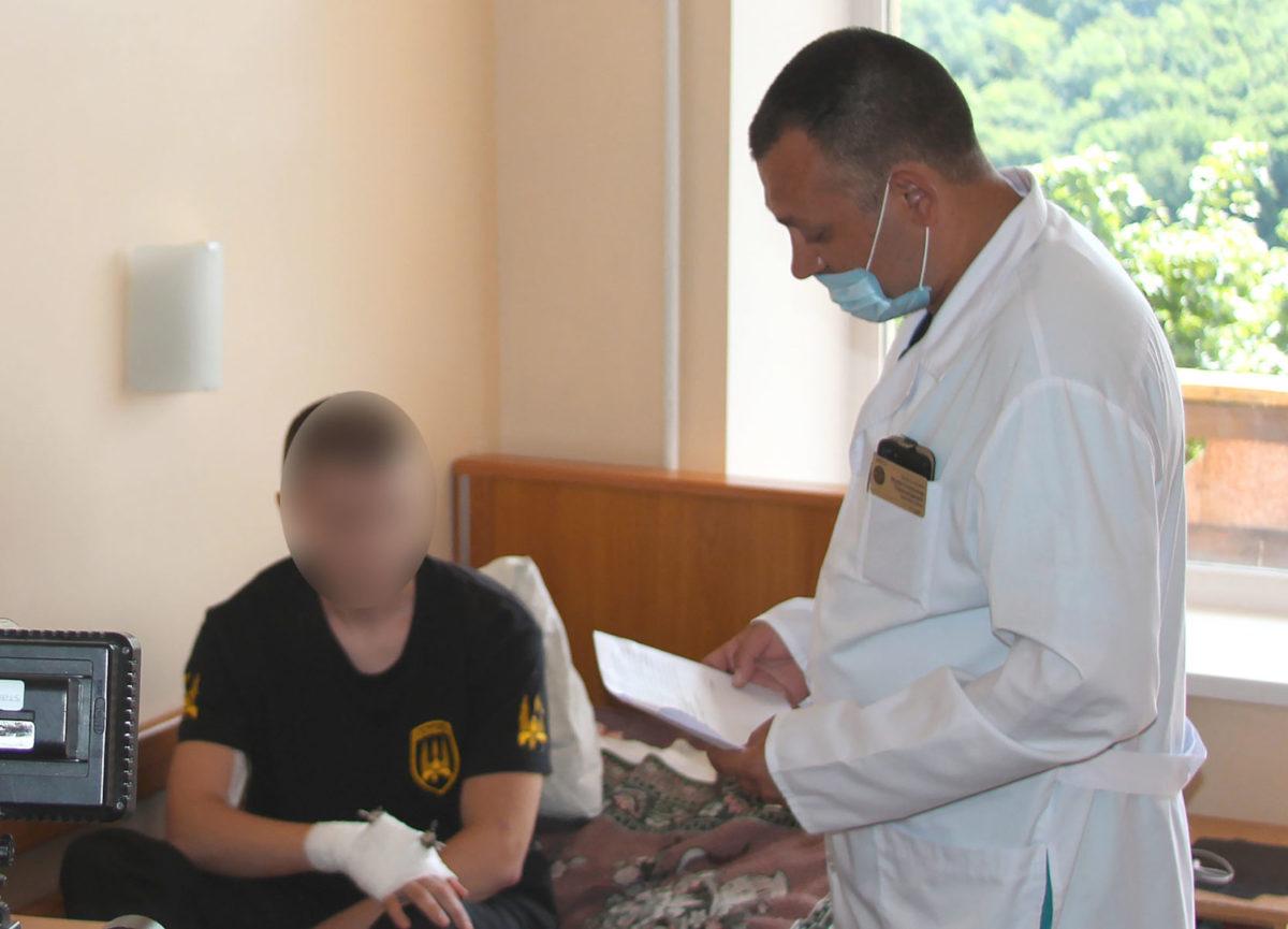 Командувач Медичних сил Ігор Хоменко: «Відтепер поранені військовослужбовці зможуть отримувати якісну травматологічну допомогу в сучасних комфортних умовах»