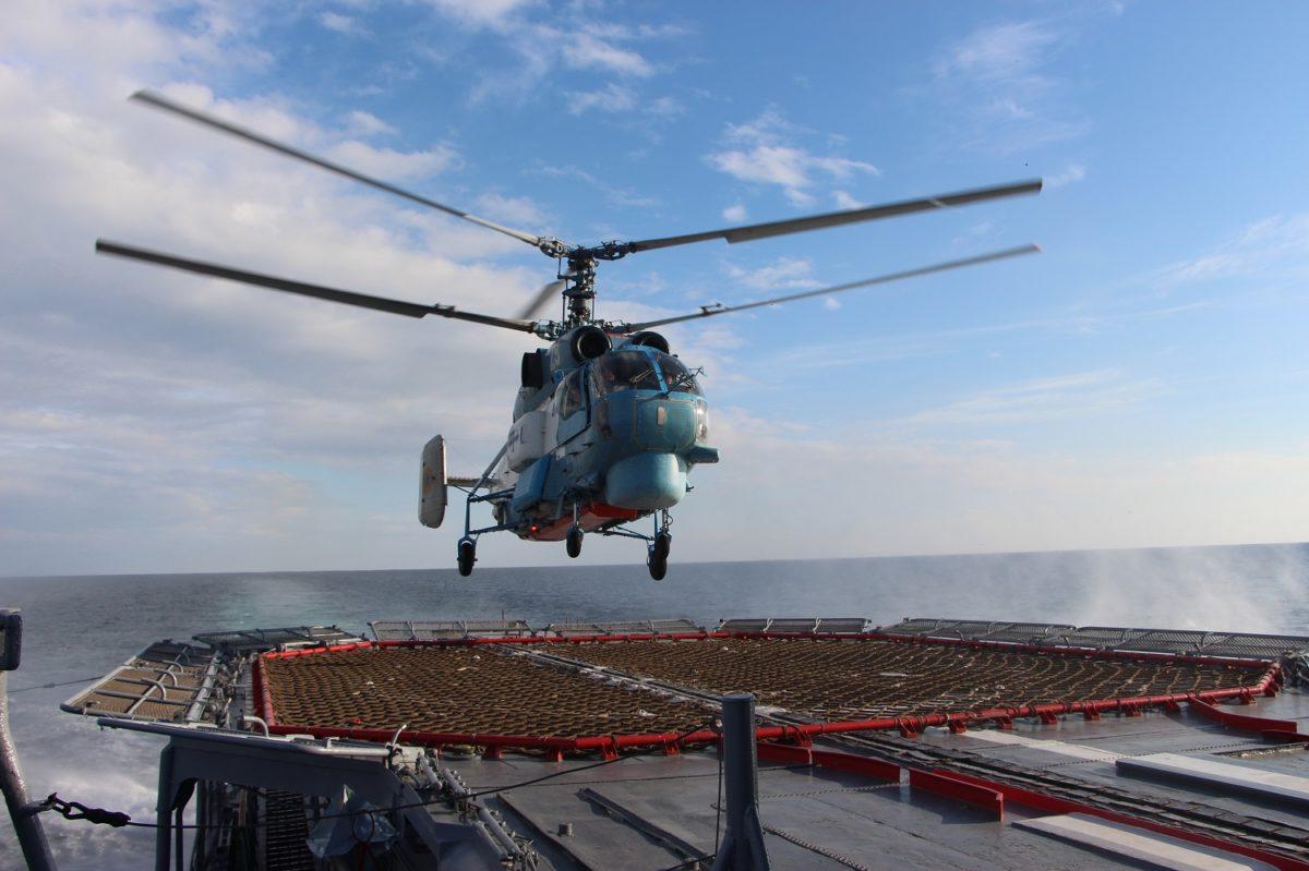 Війсковий гелікоптер